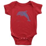 Dolphin Baby Onesie - Picsia Clothing and More
