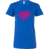 Heart (3) Bella Women's Shirt - Picsia Clothing and More
