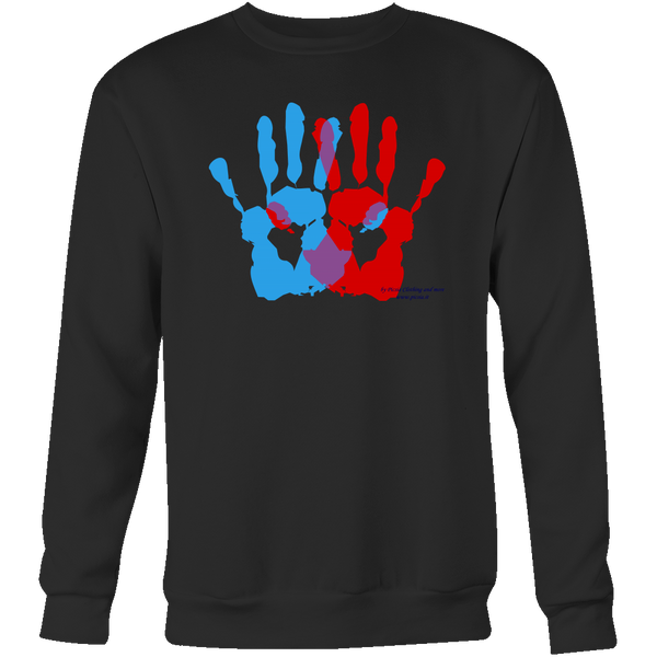 Ambidextrie Crewneck Sweatshirt - Picsia Clothing and More