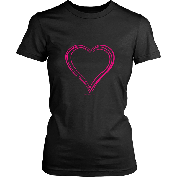 Heart (6) District Women's Shirt - Picsia Clothing and More