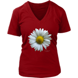 Flower District Women's V-Neck - Picsia Clothing and More