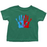 Ambidextrie Design Graphic Printed Toddler T-Shirt Casual Tee Shirt - Picsia Clothing and More