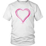 Heart (6) Gildan Unisex Shirt - Picsia Clothing and More