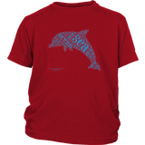Dolphin District Youth Shirt - Picsia Clothing and More