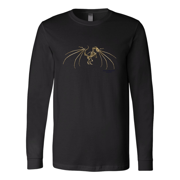 Dragon Canvas Long Sleeve Shirt - Picsia Clothing and More