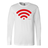 Wireless Canvas Long Sleeve Shirt - Picsia Clothing and More