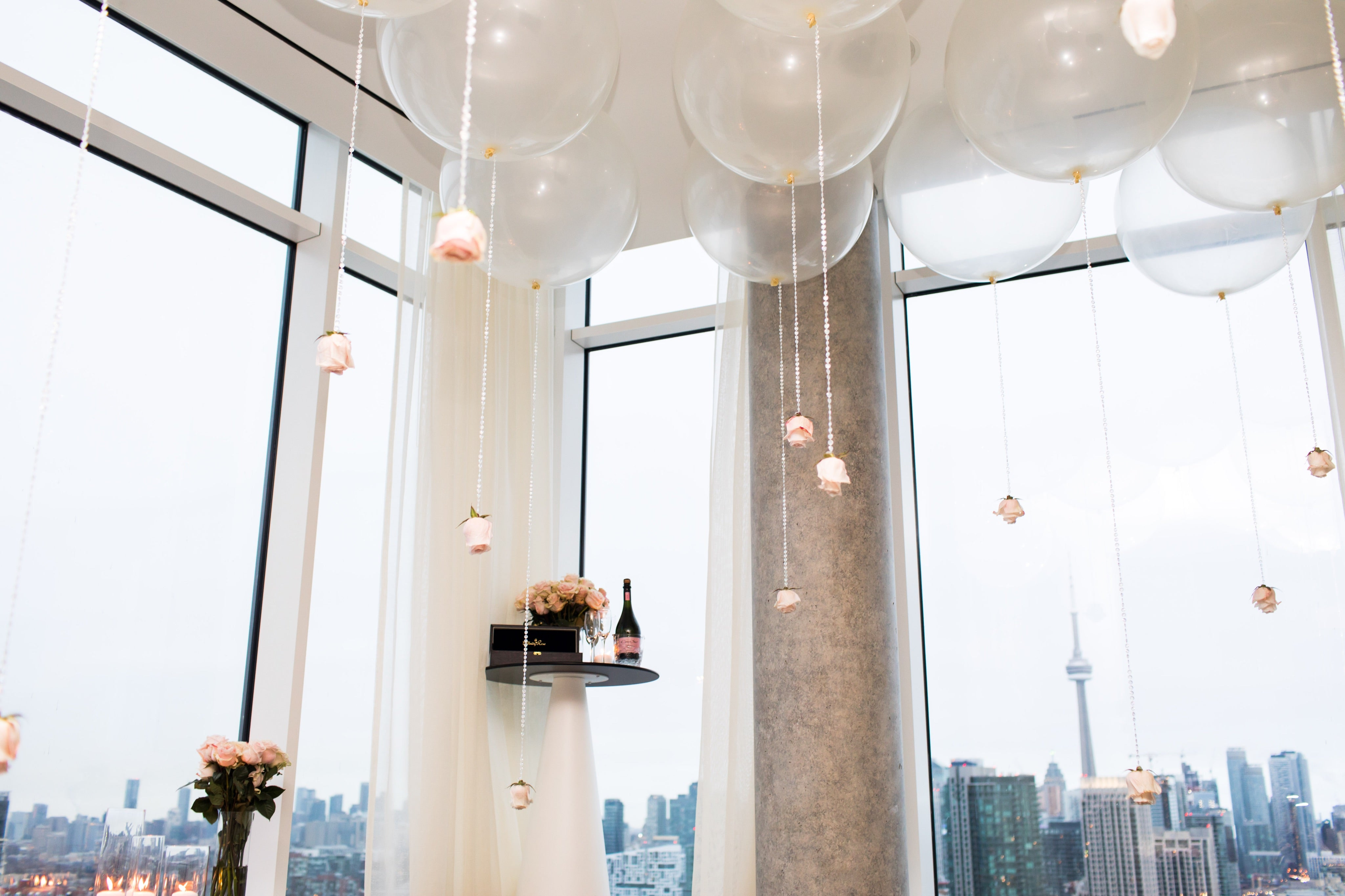Proposal Balloon Ceiling