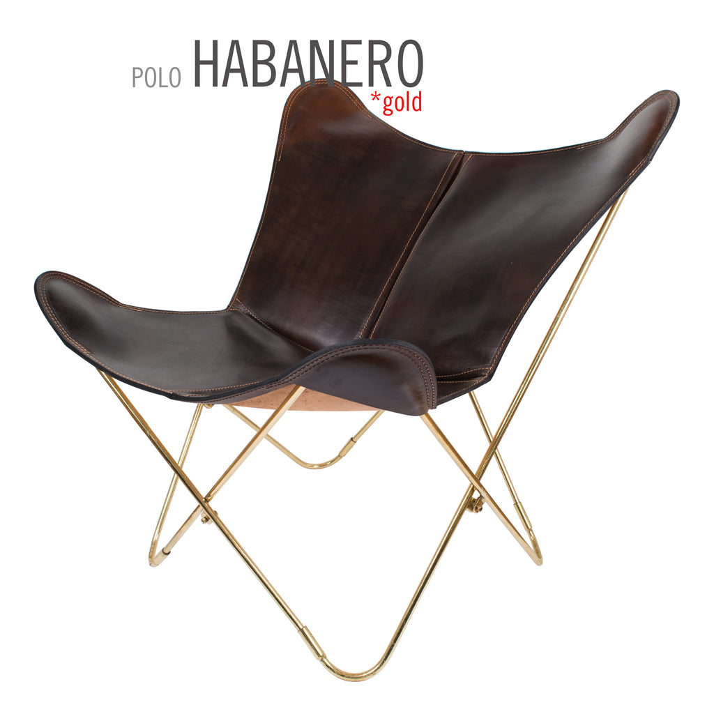 ... POLO HABANERO BUTTERFLY LEATHER CHAIR
