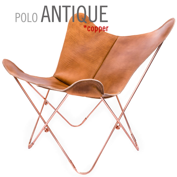 POLO LEATHER COVERS ONLY FOR BUTTERFLY CHAIRS