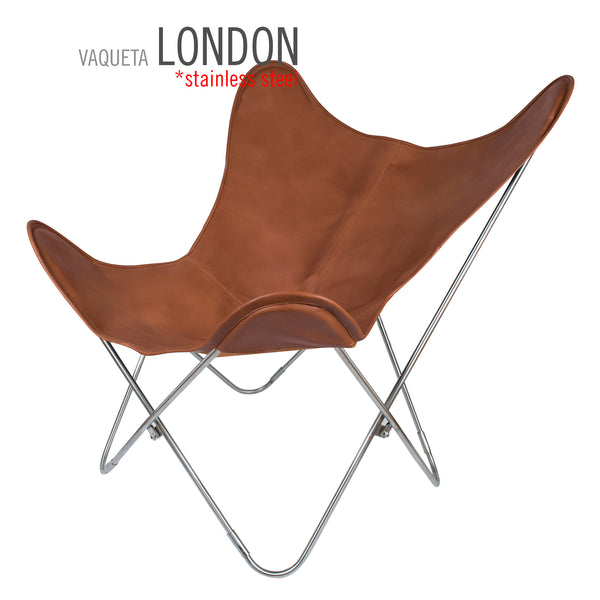 VAQUETA LONDON LEATHER BUTTERFLY CHAIR