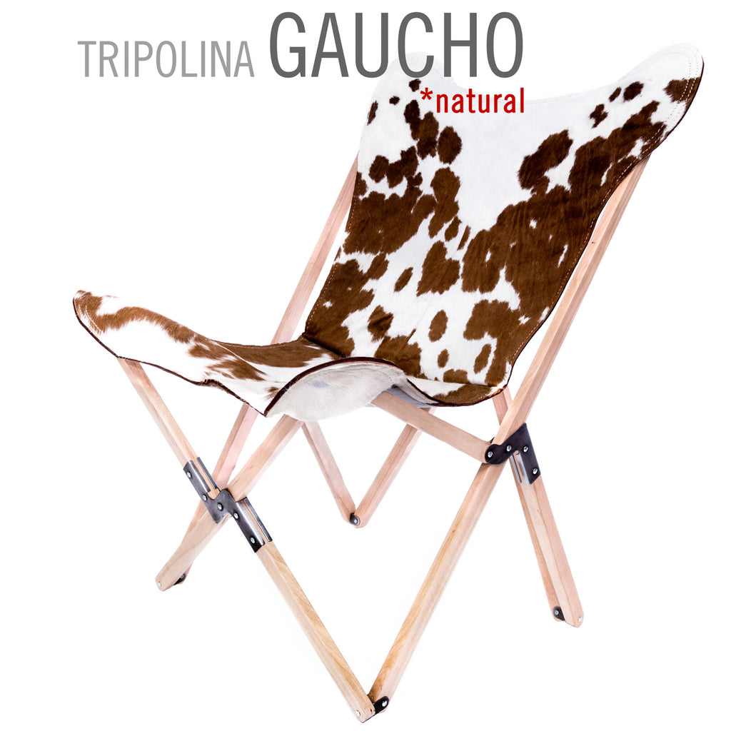 TRIPOLINA GAUCHO LEATHER CHAIR