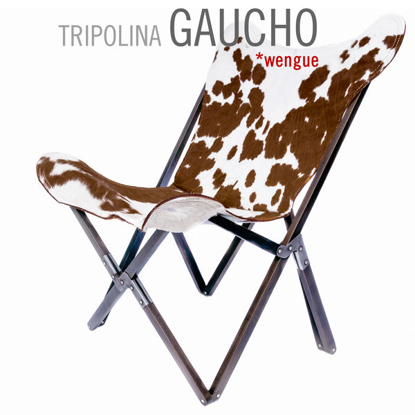 TRIPOLINA GAUCHO COWHIDE CHAIR