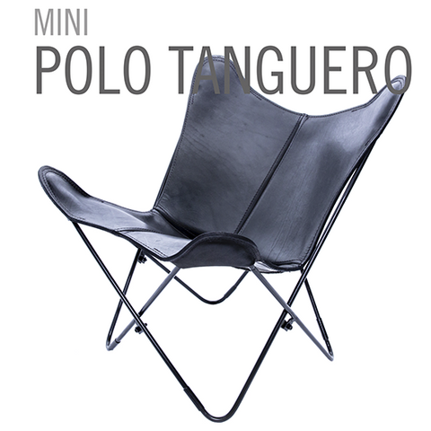 MINI LEATHER BUTTERFLY CHAIR POLO TANGUERO