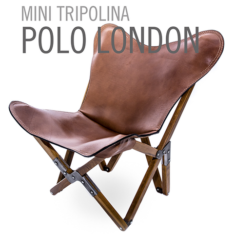 MINI TRIPOLINA LEATHER CHAIR POLO LONDON