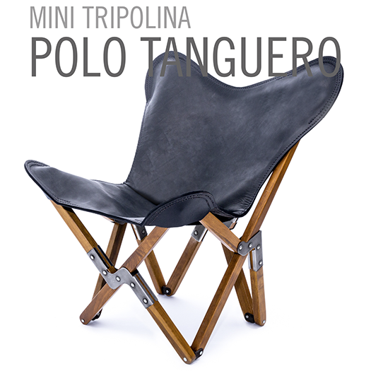 MINI TRIPOLINA LEATHER CHAIR POLO TANGUERO