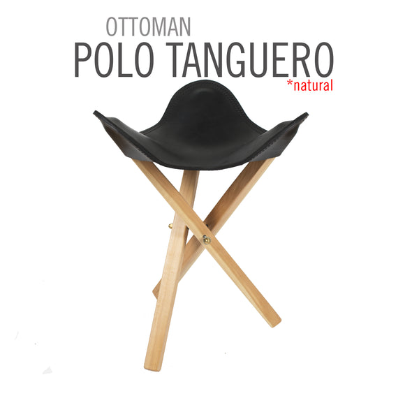 OTTOMAN POLO LEATHER TRIPOLINA CHAIR