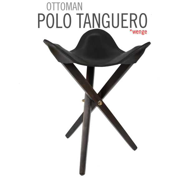 TRIPOLINA STOOL POLO LEATHER
