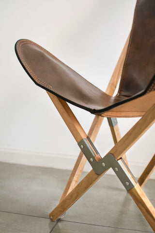 TRIPOLINA HABANERO LEATHER CHAIR
