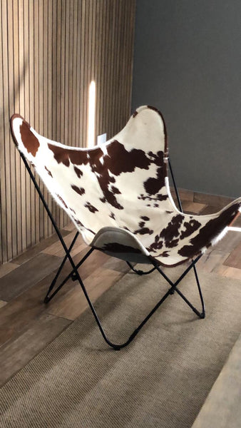 THE GAUCHO LEATHER BUTTERFLY CHAIR