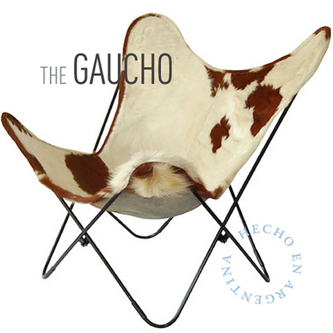 THE GAUCHO BUTTERFLY LEATHER CHAIR