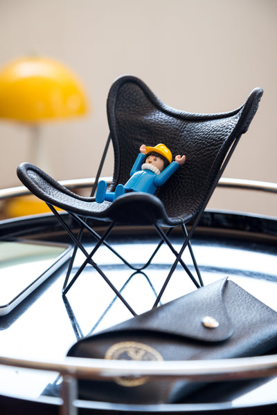 MINIATURE 1:6 SCALE BUTTERFLY CHAIR
