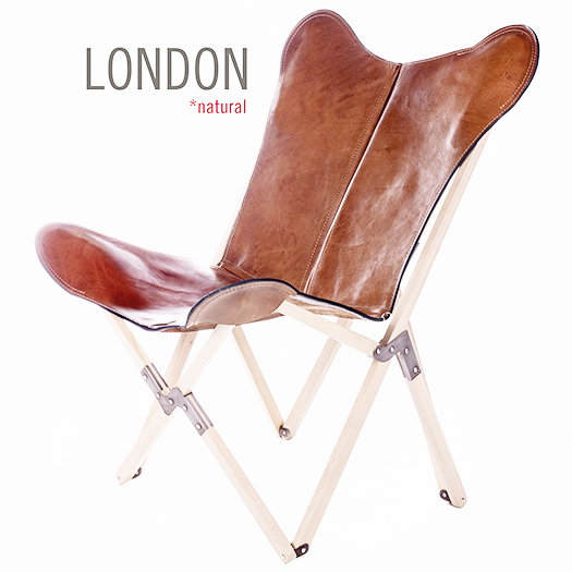 TRIPOLINA LONDON LEATHER CHAIR