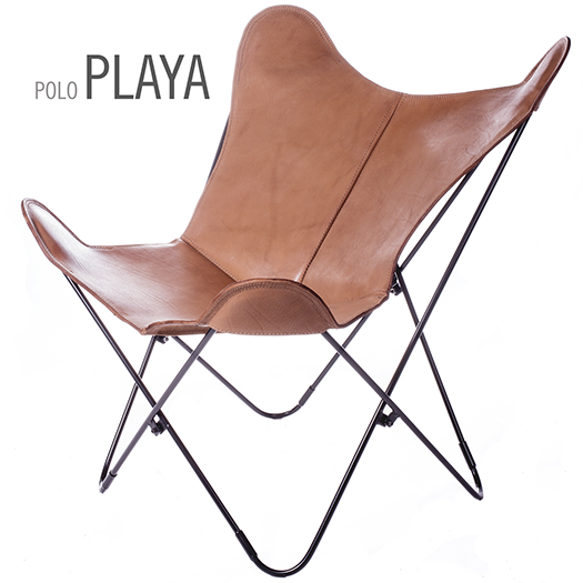 POLO PLAYA LEATHER BUTTERFLY CHAIR