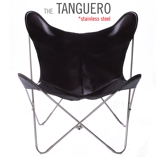 VAQUETA TANGUERO LEATHER BUTTERFLY CHAIR