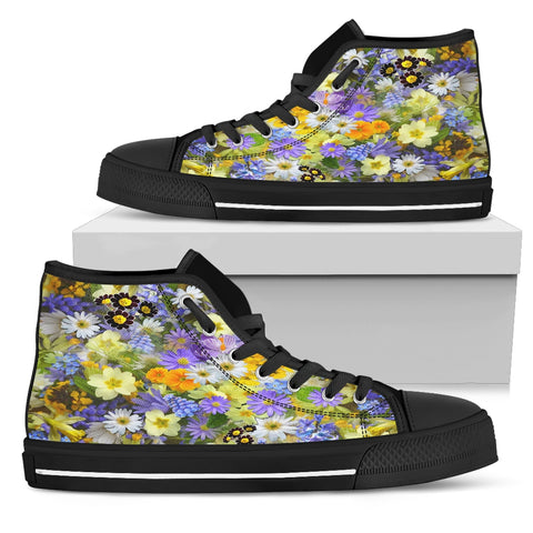 Beautiful Flowers Sneakers