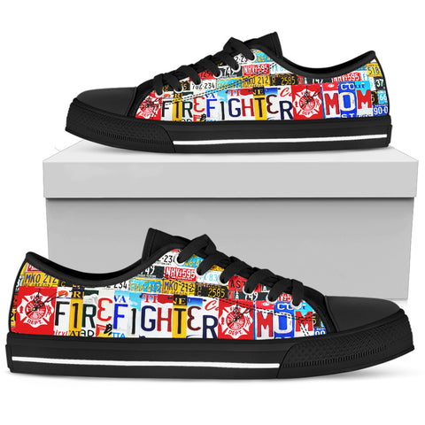 Firefighter Mom - Low Top