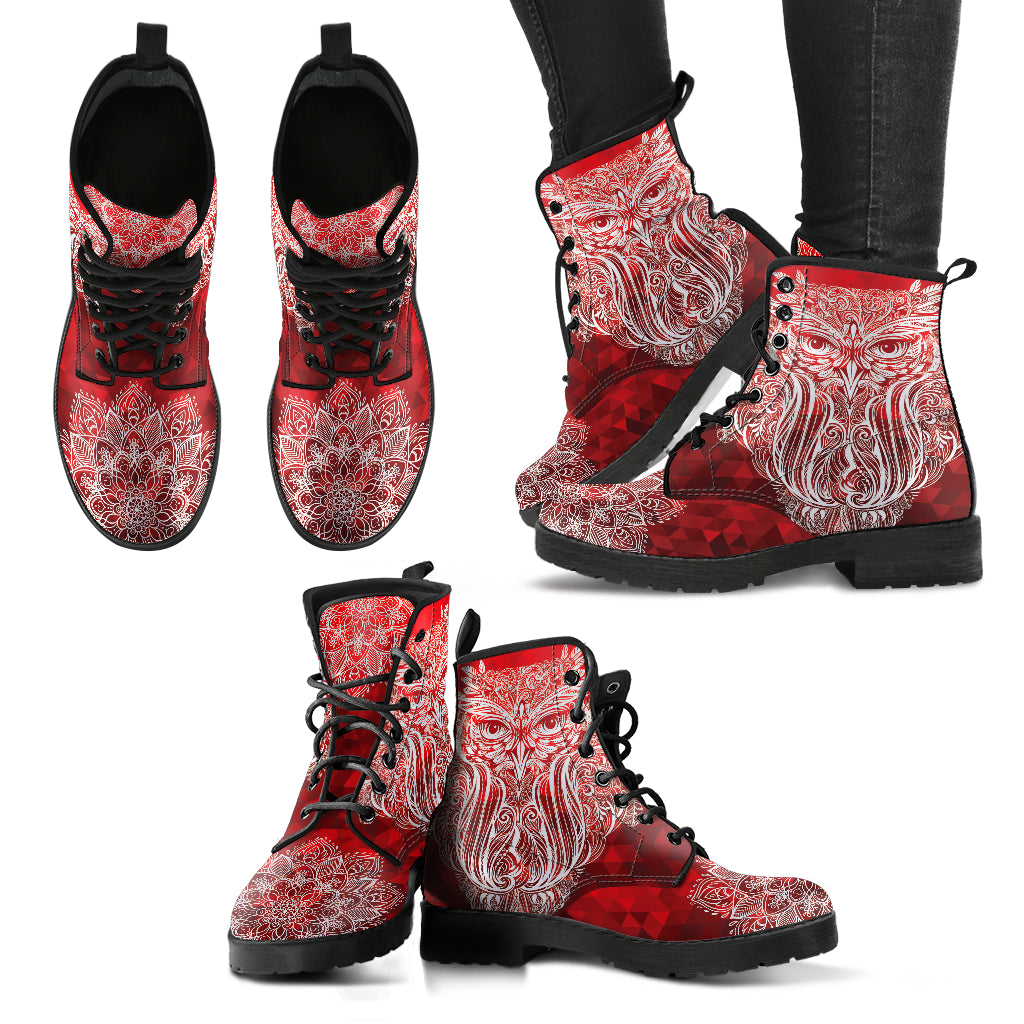 Red Owl Handcrafted Boots