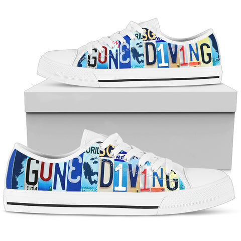 Gone Diving Low Top