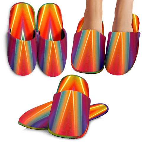 Colorful Abstract Slippers 2