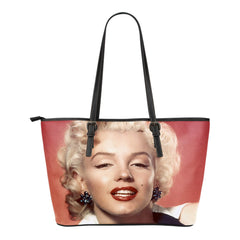 Marilyn Small Leather Tote Bag Collection
