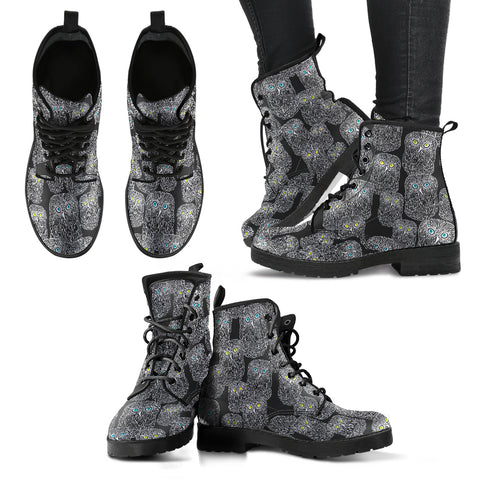 Owl Women's Leather Boots