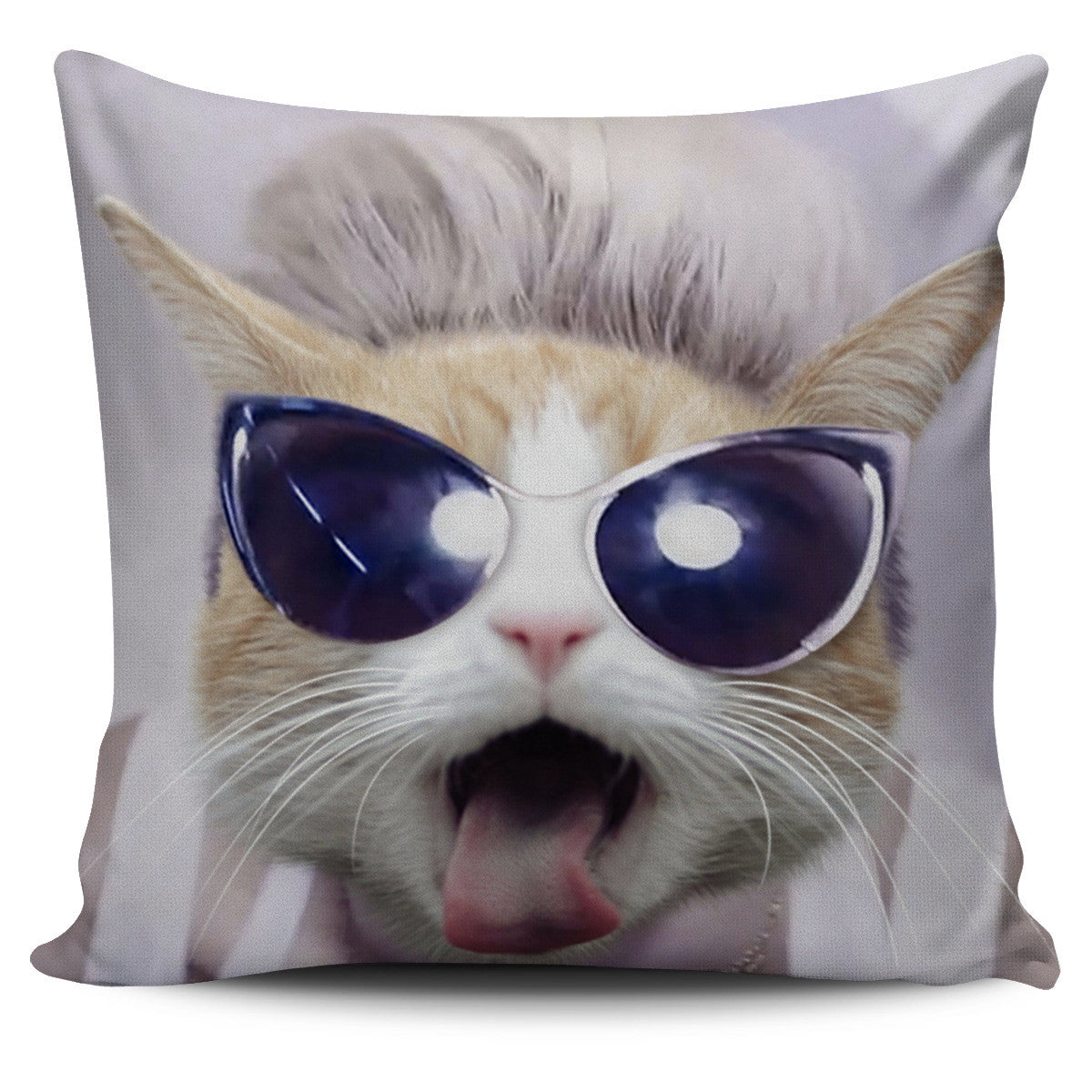 Cool Cat Pillow Cover