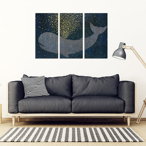 Whale Framed Canvas