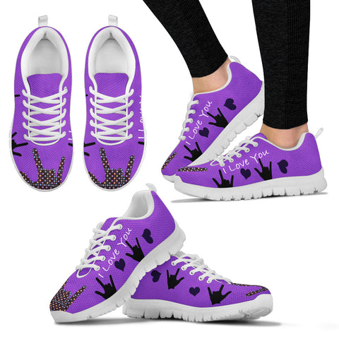 I Love You Women Sneakers