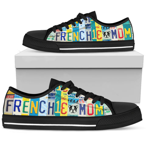 Frenchie Mom Low Top Sho