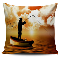 Fishing Is Life Pillow Covers