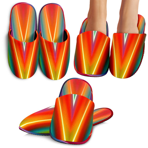 Colorful Abstract Slippers