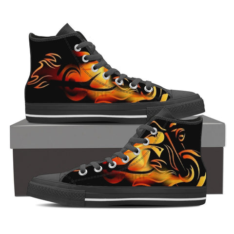 Men Motorcycle Fire Starter Shoes