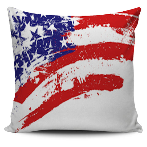 Love US Flag Pillow Cover Set