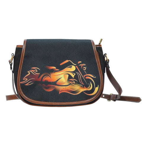 Fire Starter Motorcycle Saddle Bag