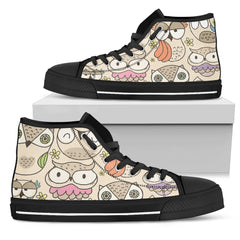 We Love Owls Women Sneakers