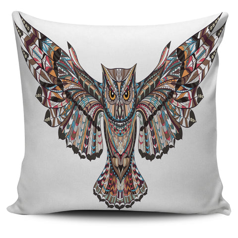 Fierce Owl Pillow Cover