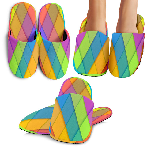 Pastel Colors Slippers