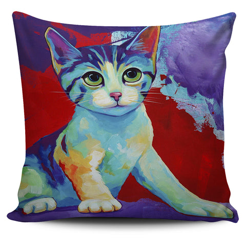 Purrfect Cute Cat Pillow