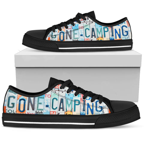 Gone Camping Low Top