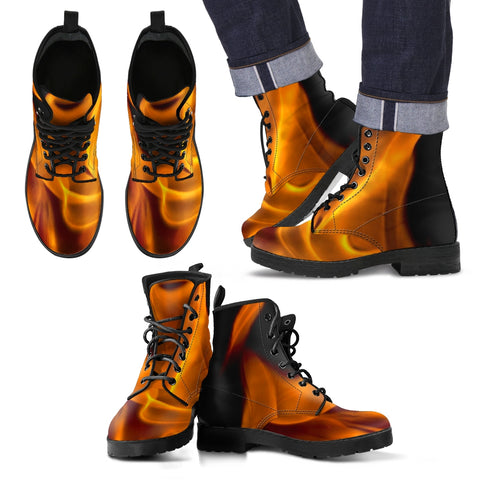Men & Women Leather FireStarter Boots